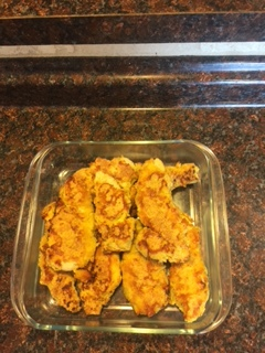 chicken tender final product
