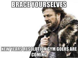 new years gym meme